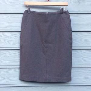 Loft business/office skirt